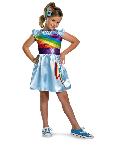 My Little Pony Rainbow Dash TV Classic Girls Costume