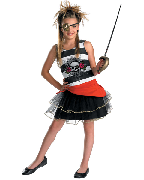 Teen Decked Out Pirate Costume