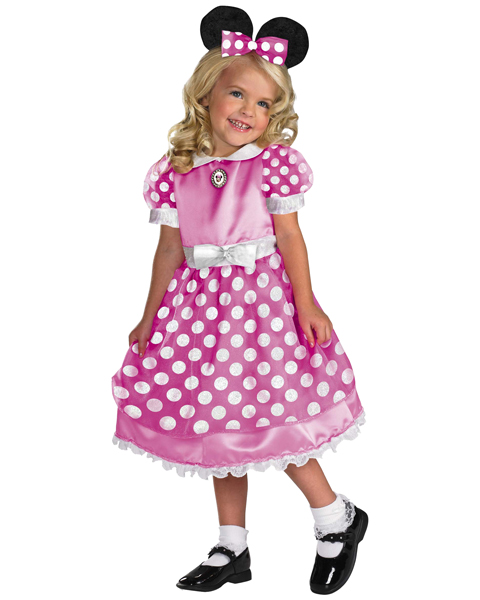 Girls Clubhouse Pink Minnie Mouse