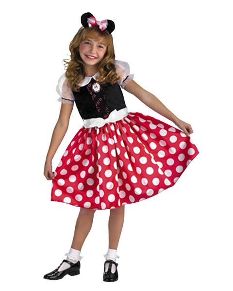 Child Minnie Mouse Quality Costume