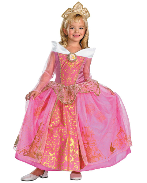 Girls Disney Prestige Aurora Costume