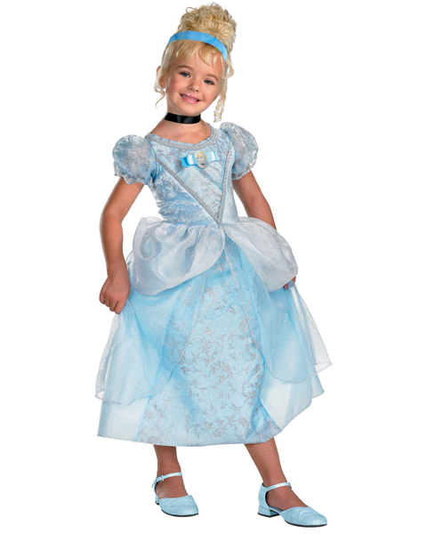 Girls Disney Deluxe Cinderella Costume