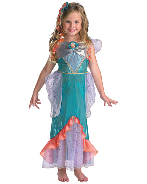 Disneys Child Deluxe Ariel Costume