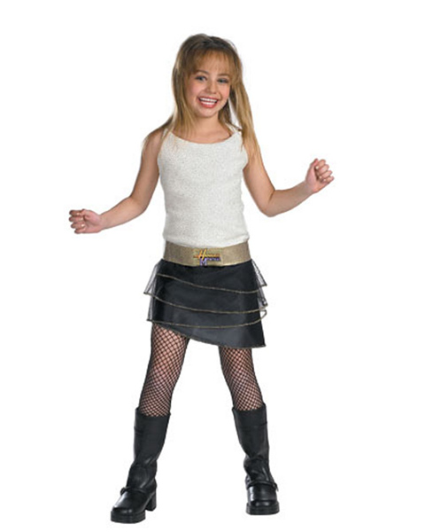 Child Hannah Montana Quality Costu,e
