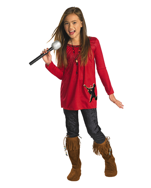 Camp Rock Mitchie Torres Red Costume for Child
