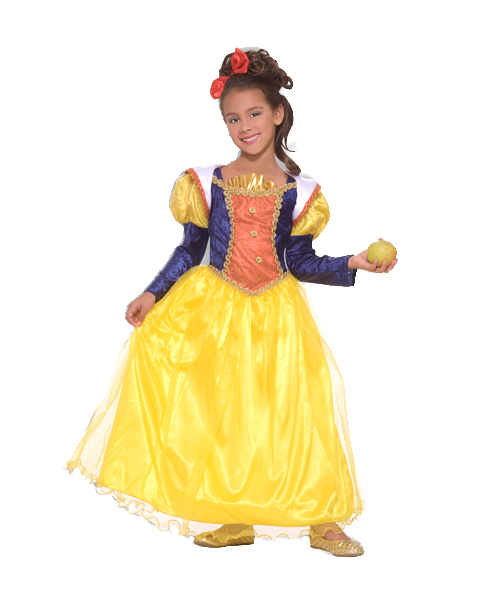 Girls Deluxe Snow White Costume