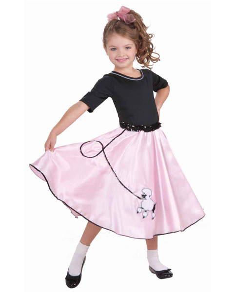 Pretty Poodle Princess Girls Costume
