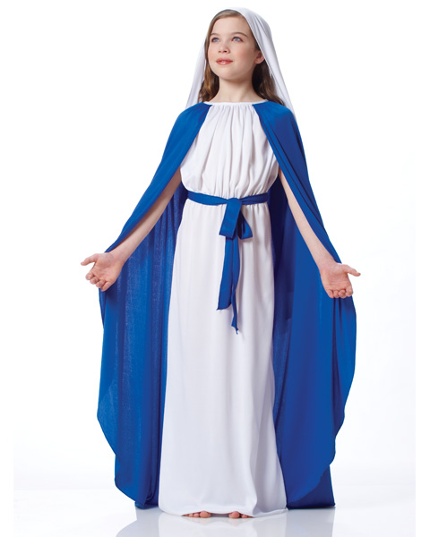 Girls Deluxe Virgin Mary Costume