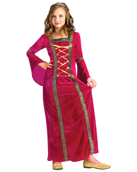 Renaissance Lady Girls Costume