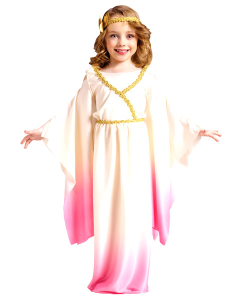 Pink Athena Goddess Girls Costume