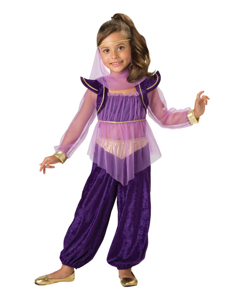 Dreamy Genie Girls Costume