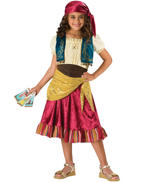 Child Gypsy Girls Costume