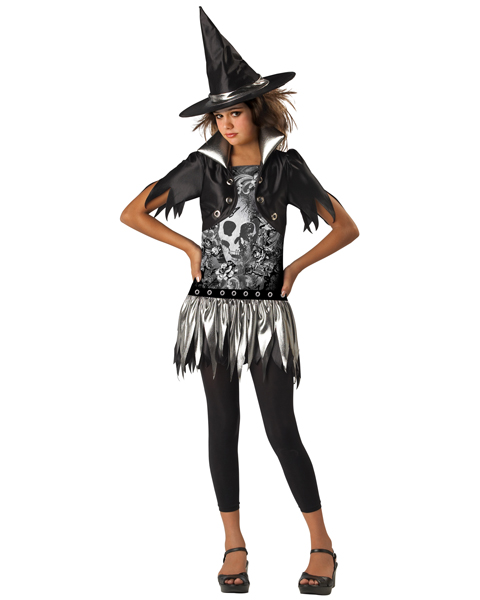 Child Gothic Witch Costume