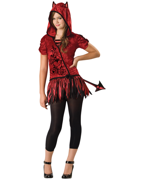 Child Devil In Da Hood Costume