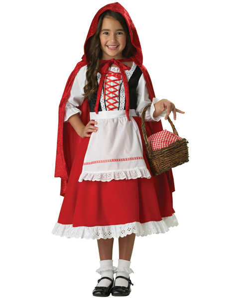 Elite Little Red Riding Hood Costume for Child