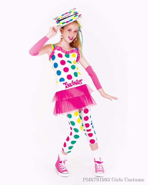 Tween Twister Pink Girls Costume