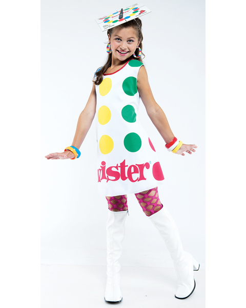 Girls Twister Costume