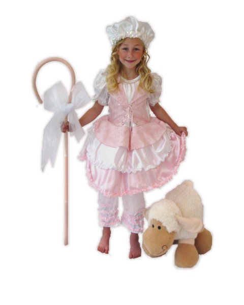 Child Little Bo Peep w/Hat and Cane