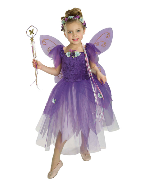 Kids Plum Pixie Costume