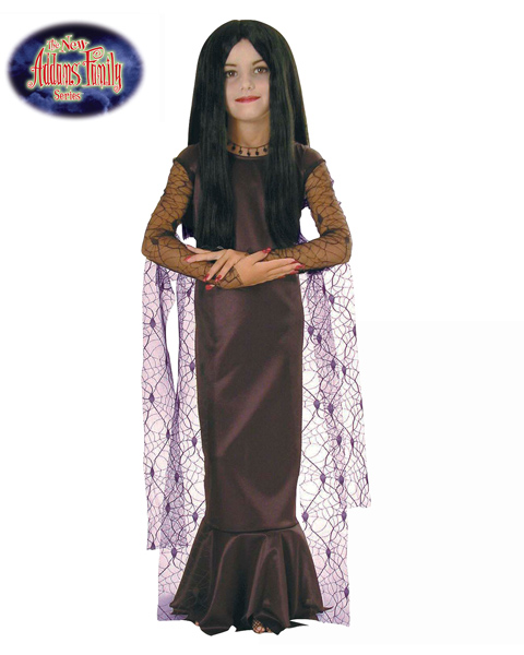 Morticia Costume for Girl