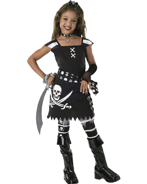 The SCAR-LET PIRATE Child Costume