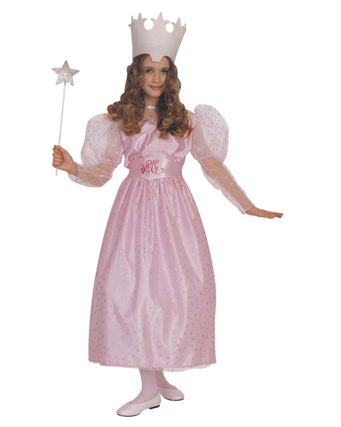 Girls Glinda Witch Costume