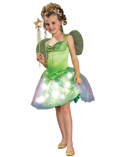 Childs Light-Up Twinkler Fairy Costume