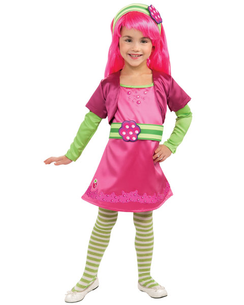Toddler Deluxe Raspberry Tart Costume for Girls