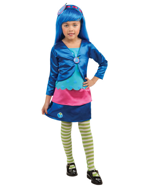 Deluxe Blueberry Muffin Costume for Girls