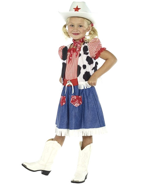 Cowgirl Sweetie Child Costume - Click Image to Close