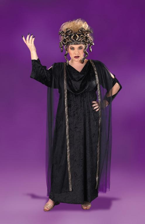 Medusa Plus Size Costume