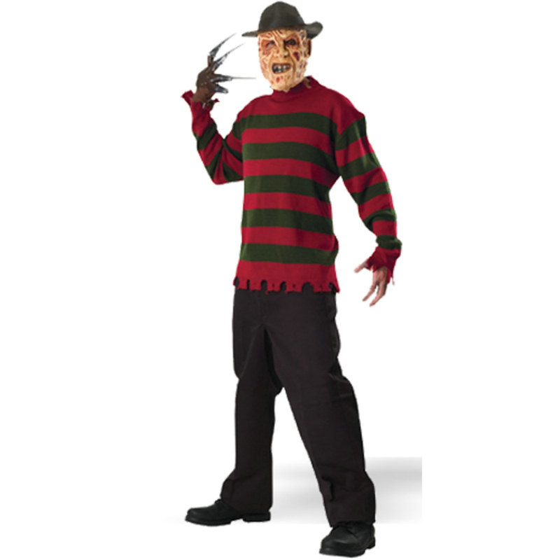 A Nightmare on Elm Street Freddy Krueger Sweater Deluxe Adult