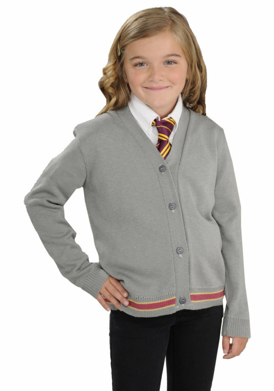 Harry Potter Hermione Cardigan and Tie Child Costume