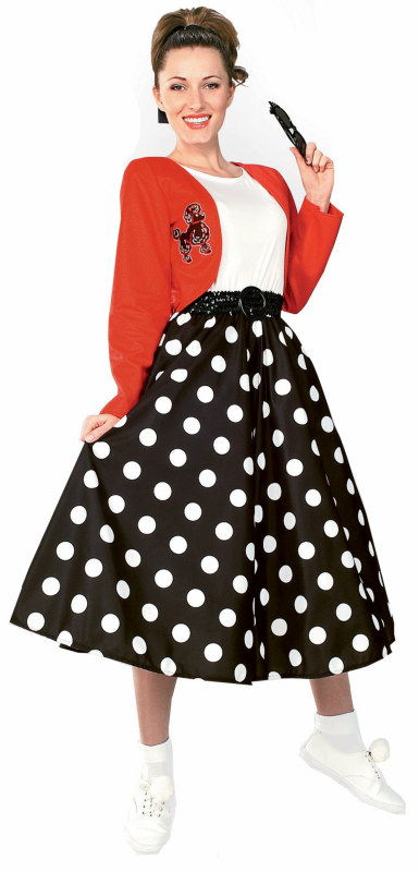 Polka Dot Rocker Adult Costume