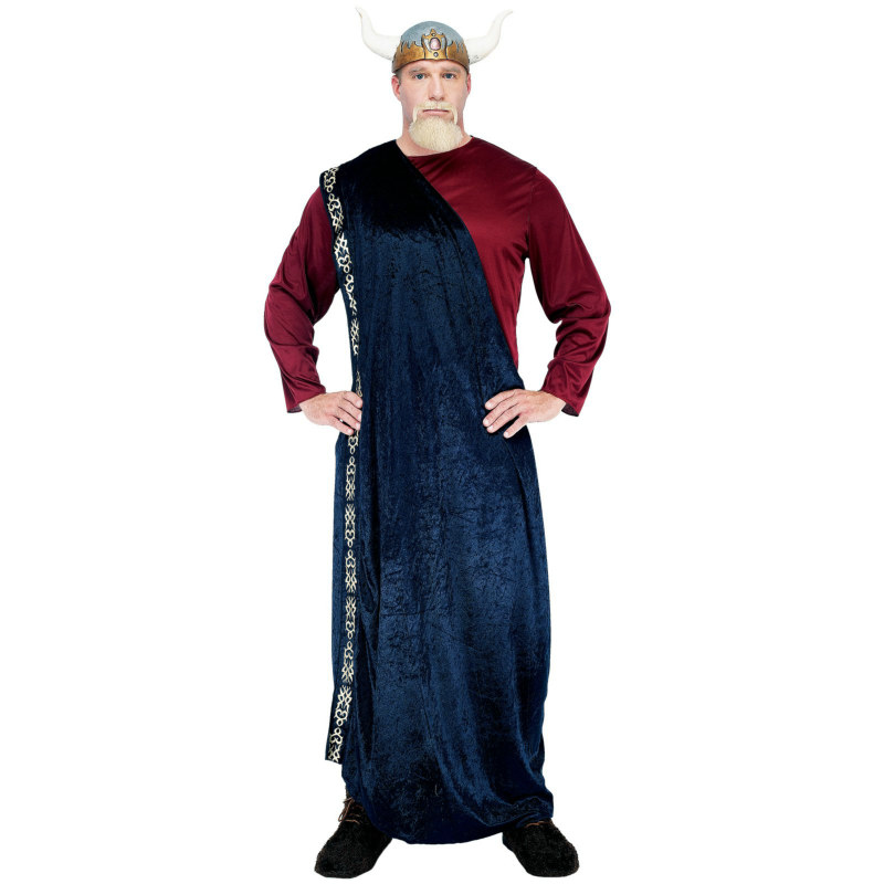 Viking King Adult Plus Costume - Click Image to Close