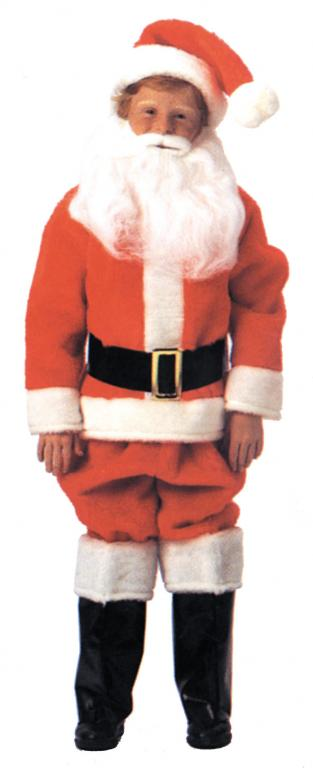 Santa Suit Child Costume Small