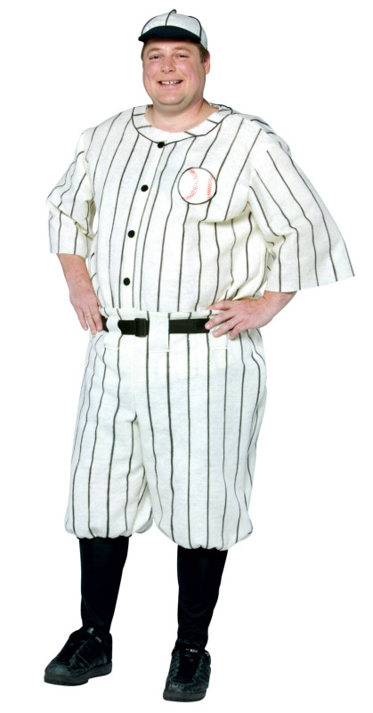 Old Tyme Baseball Player Plus Adult Costume