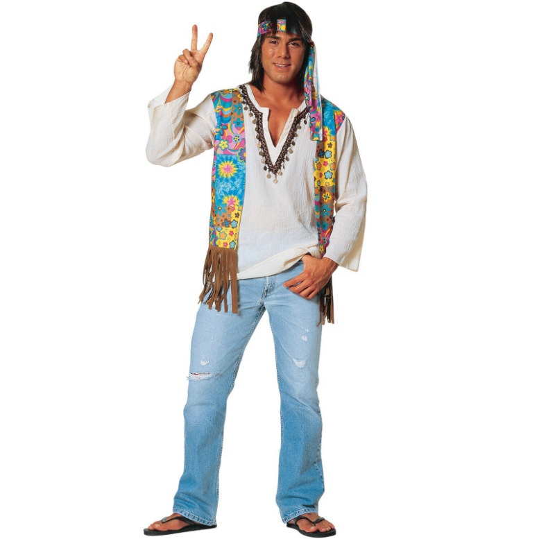 Hippie Male Adult Costume