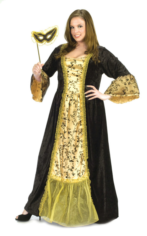 Masquerade Queen Adult Plus Costume