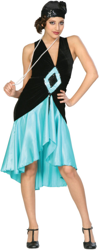 Puttinu0027 on the Ritz - Teal Adult Costume  sc 1 st  About Costume Shop Halloween Costumes For Adults and Kids Costume ... & Puttinu0027 on the Ritz - Teal Adult Costume [Historical Costumes] - In ...