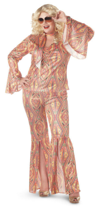 """Disco-licious"" Dancer Adult Plus Costume"