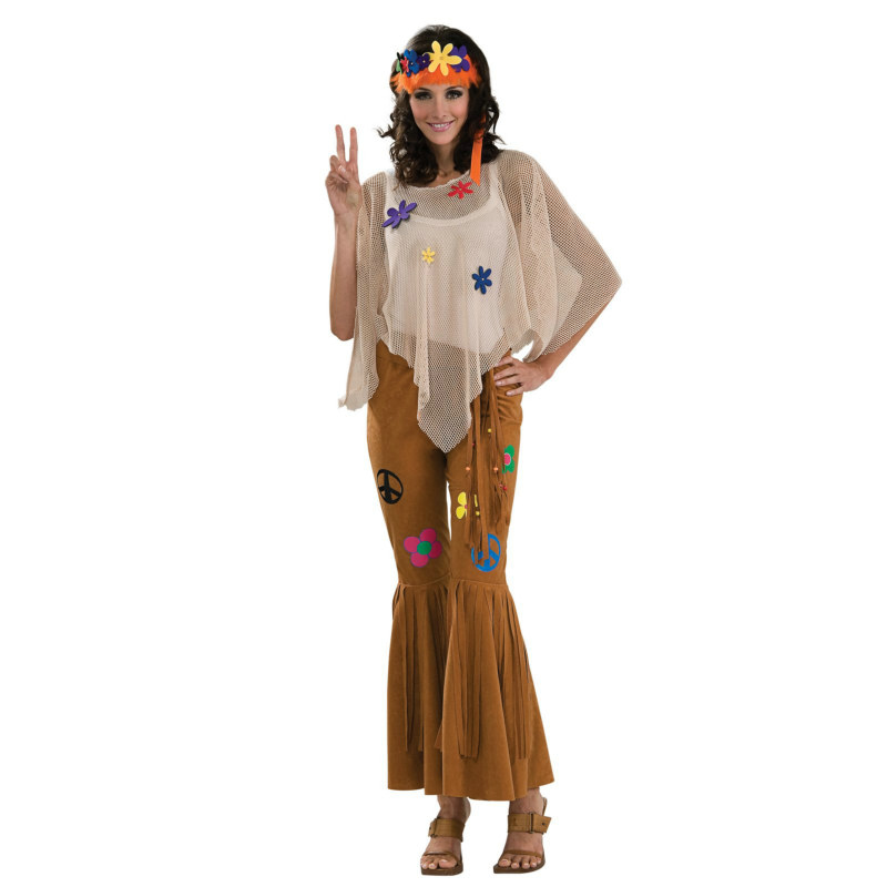 Flower Child Deluxe Adult Costume