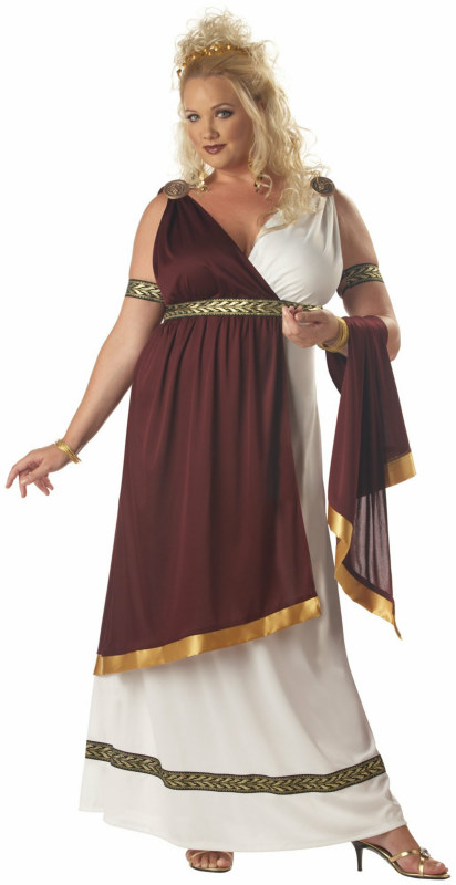 Roman Empress Adult Plus Costume