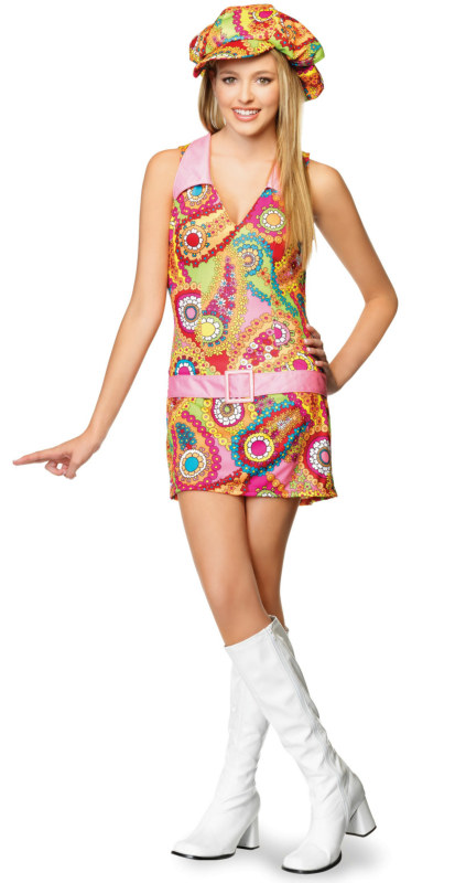 868ae0edcf80 Groovy Hippie Teen Costume  Historical Costumes  - In Stock   About Costume  Shop