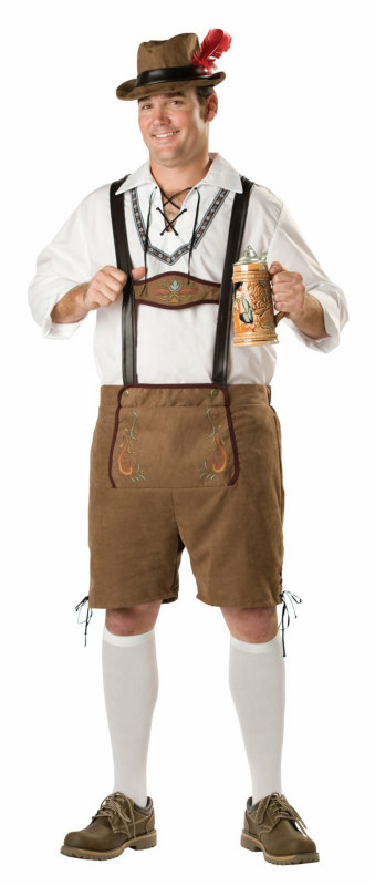 Oktoberfest Guy Adult Plus Costume - Click Image to Close