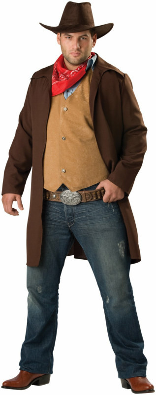 Rawhide Renegade Plus Adult Costume