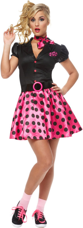 50s Sock Hop Adult Costume