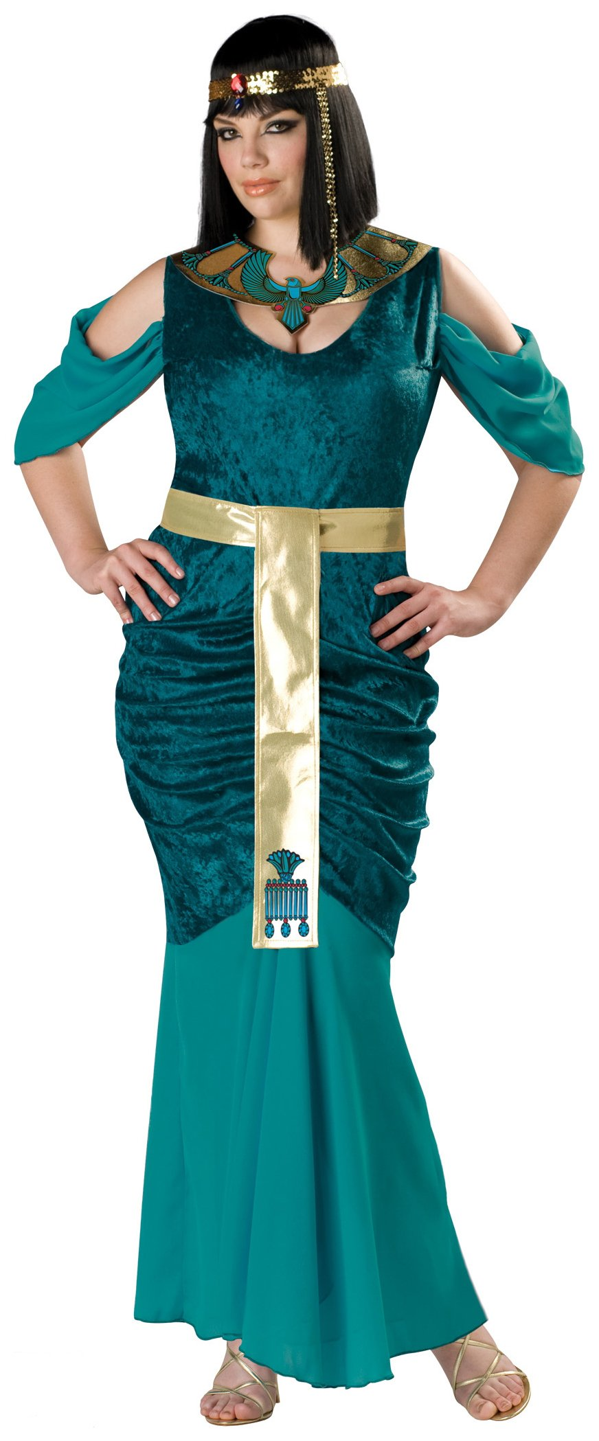Egyptian Jewel Plus Adult Costume
