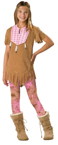 Sassy Squaw Child and Tween Costume