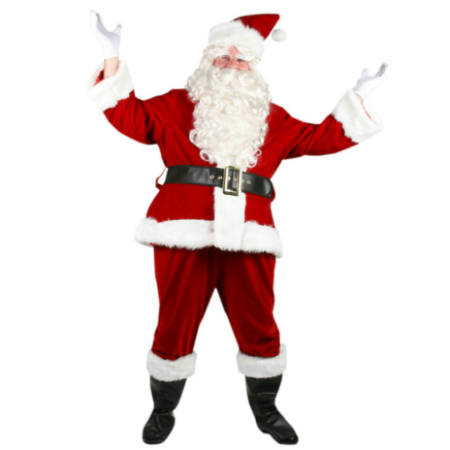 Super Deluxe Santa Suit Costume